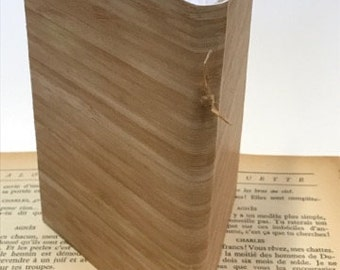 Faux Wood 2 Folio Notebook