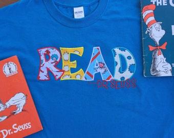 Seuss shirt read