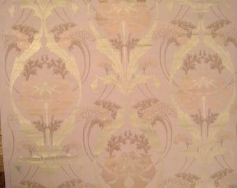 Antique French 19th Century Art Nouveau Wallpaper (2013)