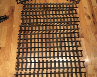 Antique The BUDDY L Line outdoor straight tracks 1930 train railroad accessory replacement
