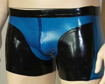 CL design men's Boxer shorts briefs sexy transparent party outfit