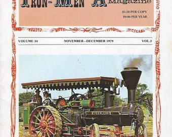 The Iron Men Album Magazine November-December 1979