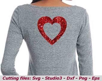 Heart svg, Heart shaped svg, Valentines svg heart , Love svg, Heart monogram dxf, eps, png, t shirt svg, heart monogram dxf png, love png