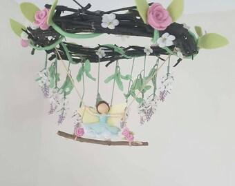 Garden Fairy Mobile