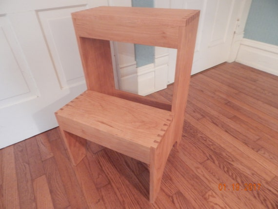 Like this item? & Shaker step stool solid cherry two step dovetailed islam-shia.org