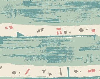 Art Gallery Fabrics - Heart Melodies-Remastering Aqua-AGF studio