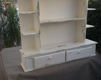 Sold /  SHABBY SHELF UNIT