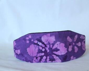 Purpe Batik Headband