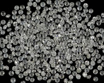 Real 100% Natural Loose Round Diamonds I1-I3 Clarity G-H 50 pcs 0.70 To 1.10 MM N5