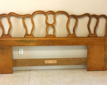 French Provincial King Size Headboard by Drexel Touraine Collection