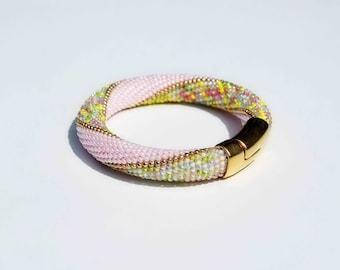 """Bracelet """"Japanese Cherry Blossom"""" +Ring Gratis!"""