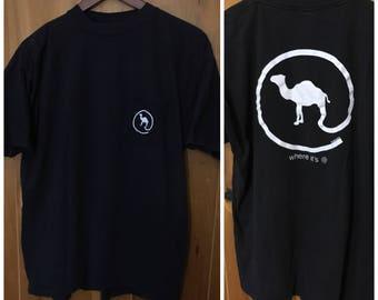 "Camel Cigarettes ""Where Its At"" Vintage Pocket T-Shirt"
