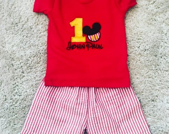Baby toddler disney birthday outfits or just disney outfits. Lots of other colors and options