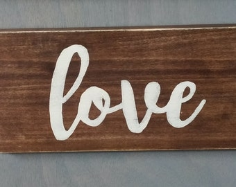Love Wall Sign