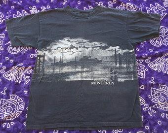 1988, Fisherman's Wharf Monterey California Shirt