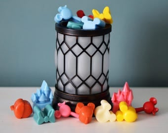 Disney inspired *Wax Melt Cuties* 2 Sets of 9 cuties. Choose 2 Scents