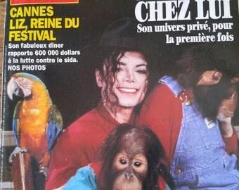 Paris Match , Michael Jackson Chez Lui 1993