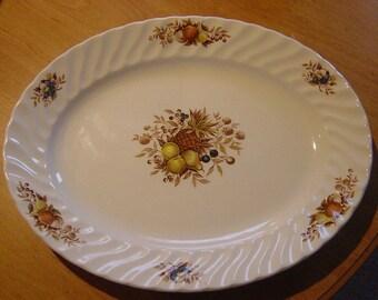 """swinnertons """"desire"""" white ironstone meat platter"""