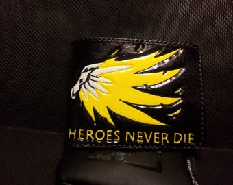 Mercy's Angel wallet from Overwatch (BLACK and YELLOW)