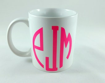 11oz. Monogram Coffee Mug