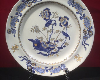 Antique Hand Painted Spode Plate c1784-1805 - Excellent Condition
