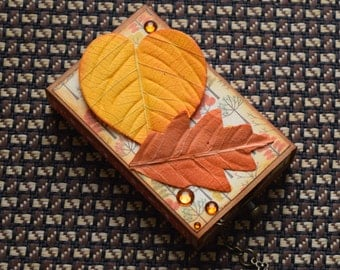 Autumn Matchbox Micro Album
