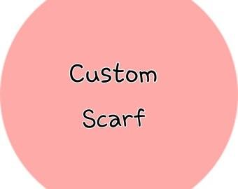 Crochet Custom Scarf