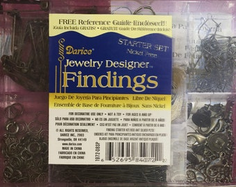 SALE - Starter Kit findings - jewelry - box