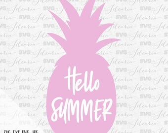 Exceptionnel Hello Summer Pineapple Svg Beach Svg Svg Saying Summer Svg Summer Quotes  Summer Beach Svg Svg