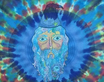 Psychedelic Wizard T Shirt