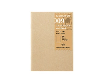 TN Refill - Passport Size - 009 Kraft Paper