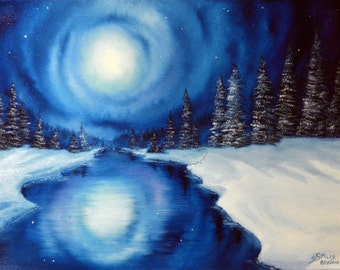 Winter Magic, Giclee Print