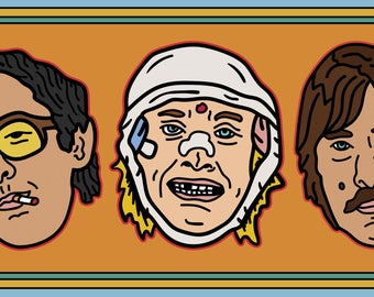Limited Edition Wes Anderson inspired Darjeeling Limited Pin pack!
