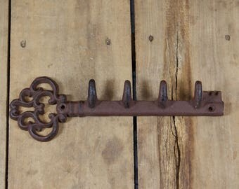 Cast Iron Key Hook