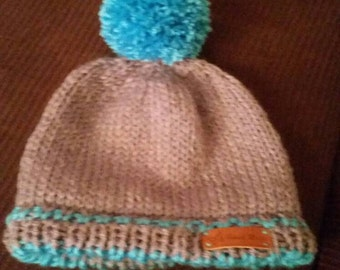 Mixed warm hat adult