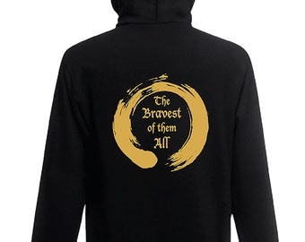 Kids zip hoodie The Bravest of them All