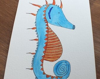 Illustration 5x7po, watercolor, watercolor