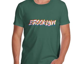 Brooklyn NYC Men's  T-Shirt