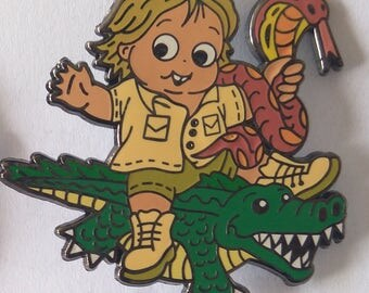 Croc hunter pin (pre order)