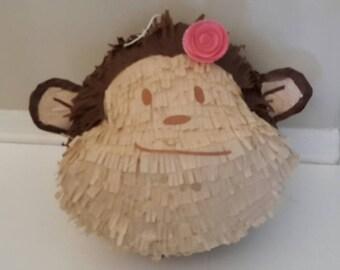 MOD MONKEY HEAD. Handmade. New