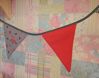 Foxy forest bunting!