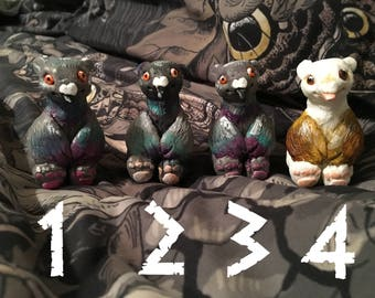 Hand painted PIGEONBEARS
