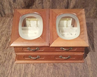 Commodore by Rosalco wooden jewelry box, free shipping