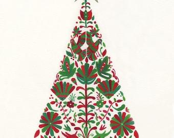 Otomí Christmas tree