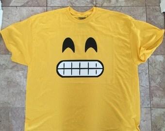 Emoji costume tee - angel emoji - smirk emoji- shades emoji - cheese emoji