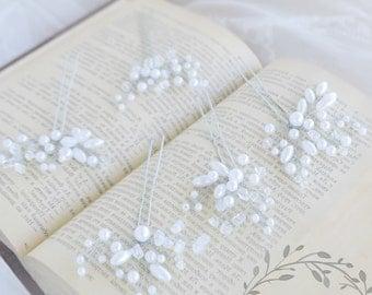 Pearls wedding hair pin Bridal Hair Vine Bridal Hairpiece Wedding Hair piece Vine bridal hair accessories rhinestone hairpin crystal bridal