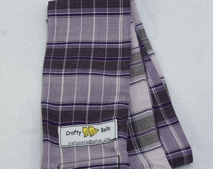 Camera Strap Cover Sleeve Purple Batik Photography Accessories Slip over existing camera strap