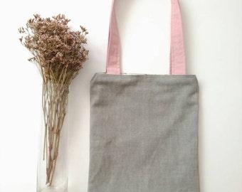 "Reversible bag ""Desert Rose"""