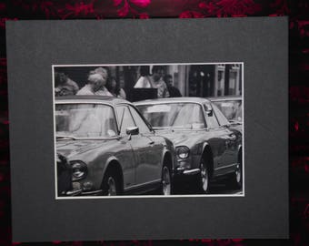 A4 Mounted Photography Print