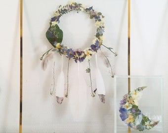 Framework-Herbarium - hurry to catch shaped flowers dream